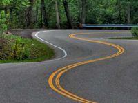 Элементы поворота на дороге